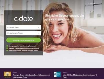 C-Date Webseite