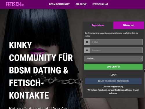 Fetisch Webseite