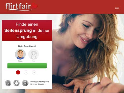 Flirt Fair Webseite
