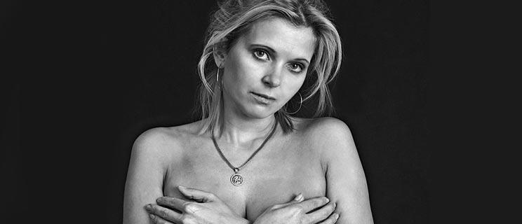 Frau über 40