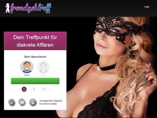 Fremdgehtreff.de Webseite