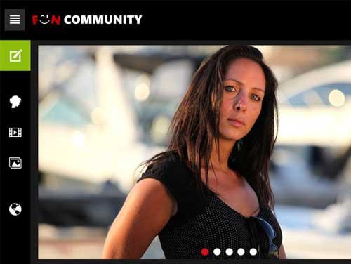 Funcommunity Webseite