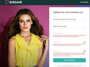 Gibs Mir Webseite
