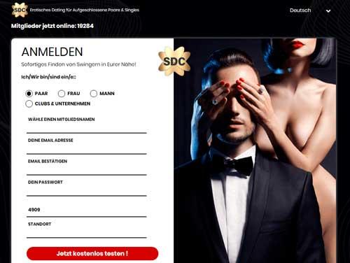 SDC Webseite