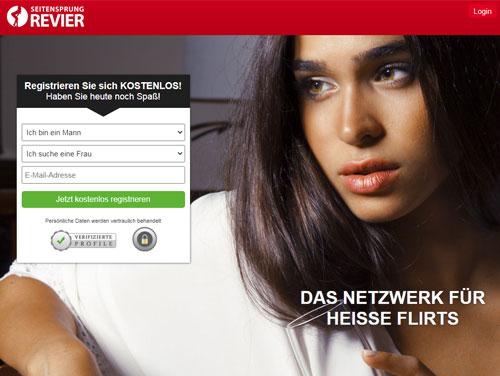 Seitensprung Revier Webseite